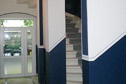 farbliche Gestaltung Treppenhaus - Dresden
