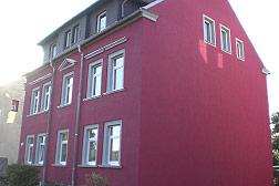 Fassadensanierung in Freiberg
