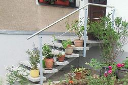 Treppenanlage in Freiberg