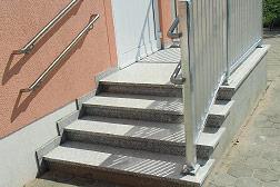 Treppenanlage in Hilbersdorf